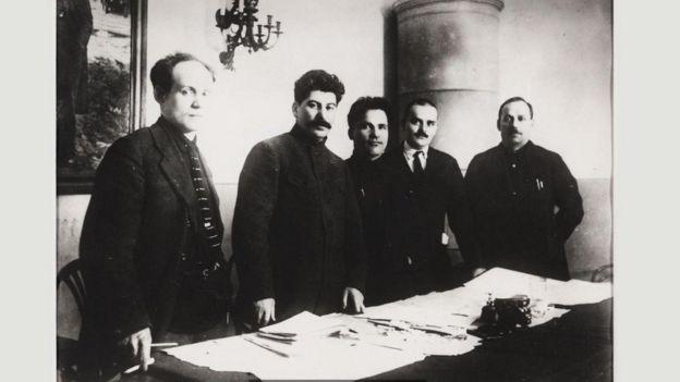 Retrato de Stalin
