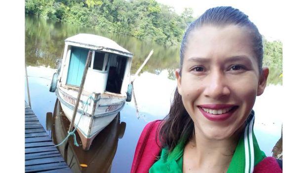 Assistente social Glinda Sousa Farias, 25 anos