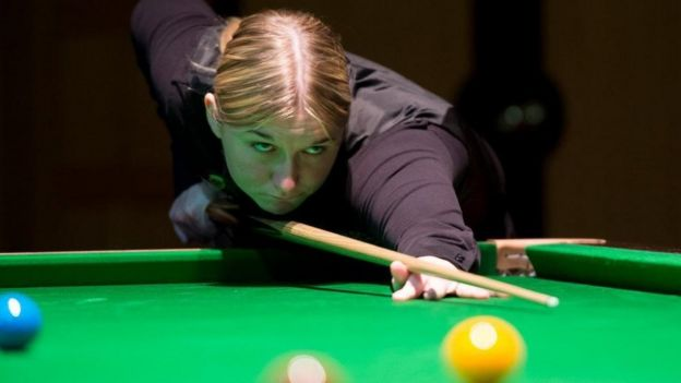 Women still snookered by loopy men-only rule in 2019? Give