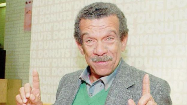 Derek Walcott in 1992