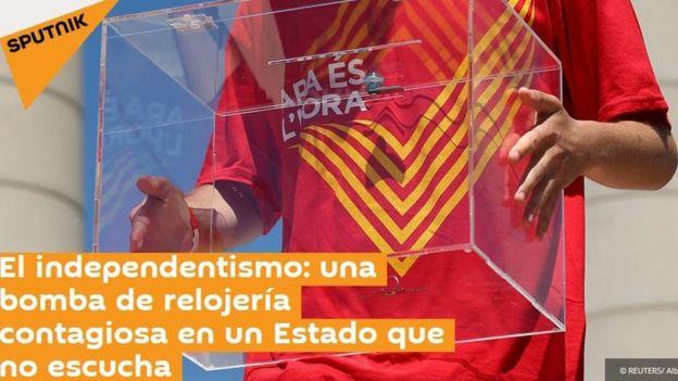 Spain Catalonia: Did Russian 'fake news' stir things up