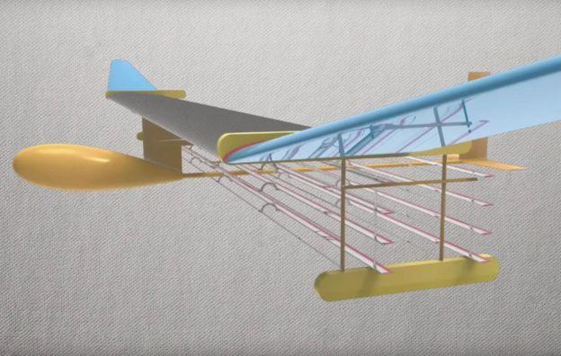 """ต้นแบบ """"เครื่องบินสถานะของแข็ง"""" ของเอ็มไอที สามารถบินไปได้โดยไม่ต้องมีชิ้นส่วนใดขยับเคลื่อนไหว"""