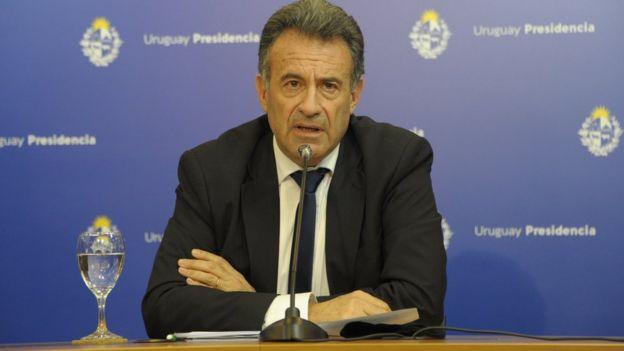 Ministro de Salud Pública de Uruguay, Daniel Salinas