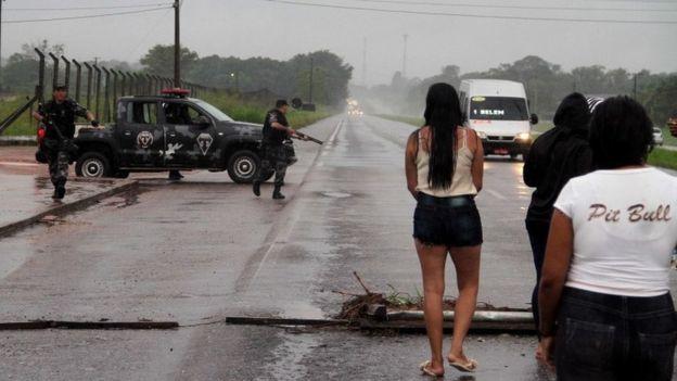 Prisión en Brasil