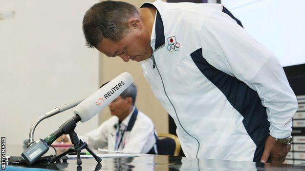Japan heyetinin başkanı Yasuhiro Yamaşita