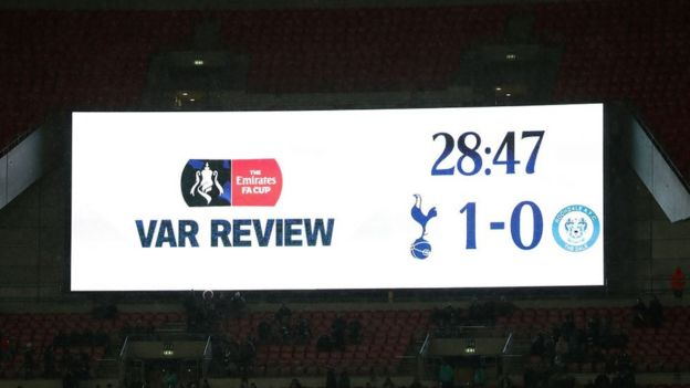 Pantalla en Wembley