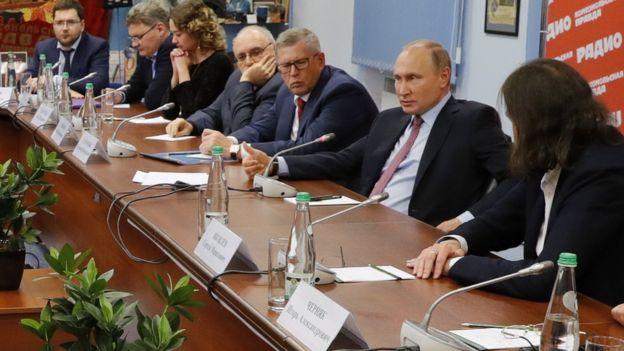 Путин и главреды