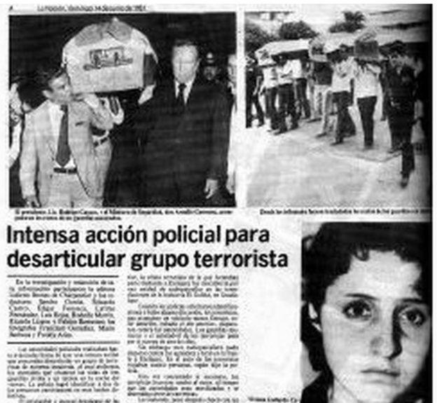 Noticia sobre Viviana Gallardo en un medio de Costa Rica.