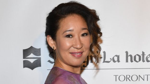 9ffe681ad Sandra Oh attends Birks Diamond Tribute to the Year's Women in Film in  partnership with Telefilm