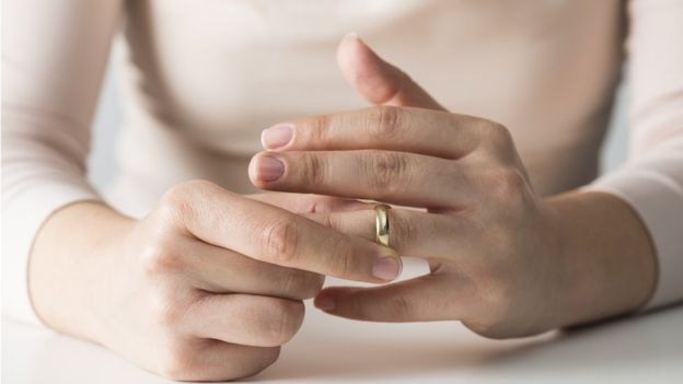Compared with 2015, divorce rates in 2017 increased for men aged 45 years and over and for women aged 50 years and over