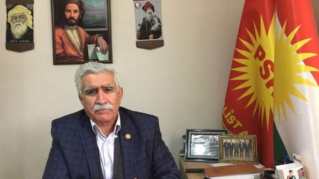 PSK Başkanı Mesut Tek // BBC Türkçe