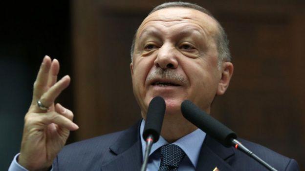 """Cumhurba;kani Erdoğan, Salı günü """"Çok yakında harekete geçeceğiz"""" mesajı verdi"""