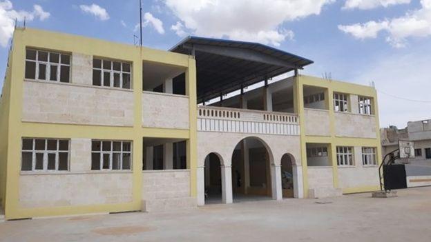 Harran Üniversitesi'nin El Bab'daki fakülte binası