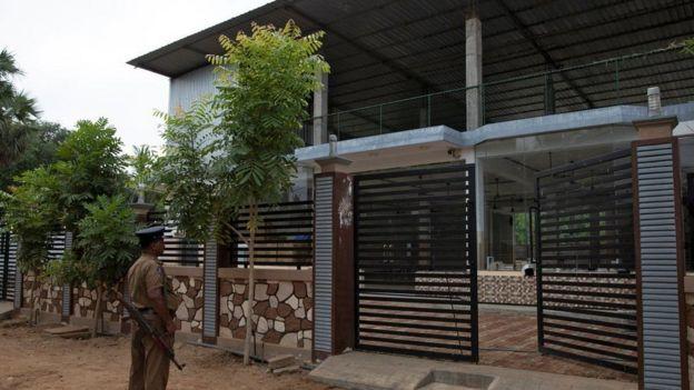 இலங்கை அரசால் மூடப்பட்டுள்ள சஹ்ரான் ஹாசிமின் மசூதி