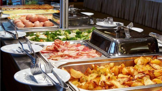 a tasty looking buffet