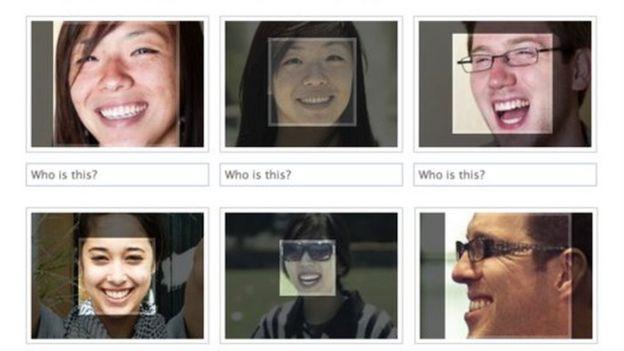sistema de reconocimiento facial de Facebook