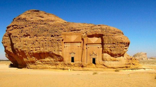 مدائن صالح كانت ثاني أكبر مدن مملكة الأنباط بعد البتراء