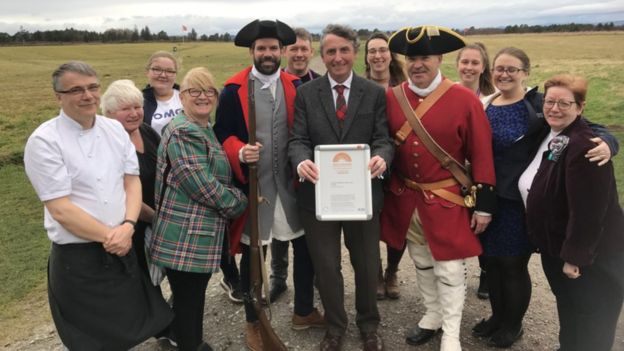 New status awarded to Culloden Battlefield centre - BBC News
