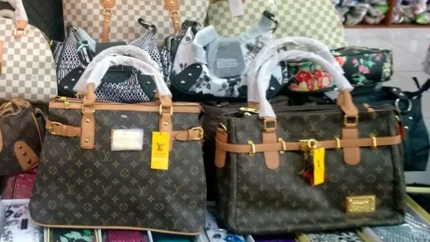 What s wrong with buying fake luxury goods  - BBC News d5fe338fe3