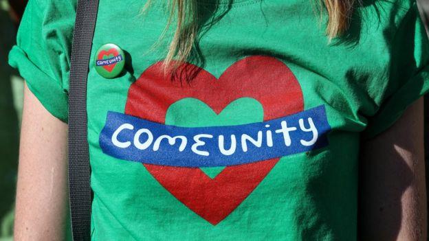 Come Unity t-shirt