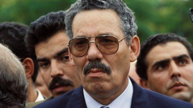 وزير دفاع الجزائر السابق خالد نزار