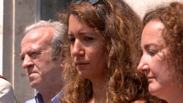 Cumhuriyet gazetesi davası sanıklarından Turhan Günay'ın kızı Elif Günay