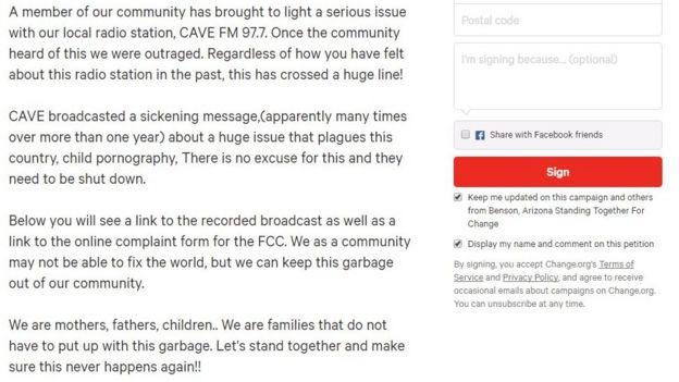 Paedophile advice' on Arizona radio station causes fury - BBC News