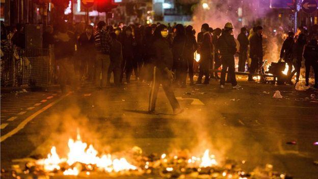 2016年旺角爆發警民衝突
