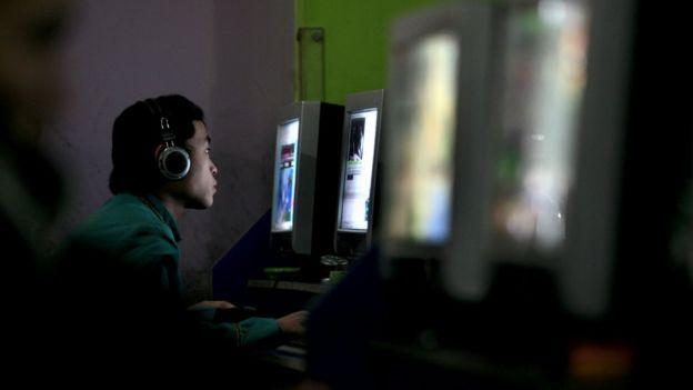 internet de China