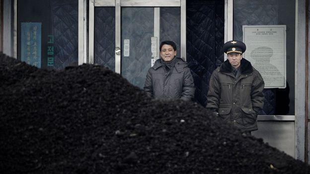 Exportación de carbón de Corea del Norte a China.