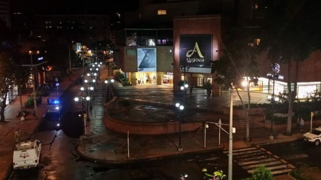 Centro comercial Andino en Bogotá.