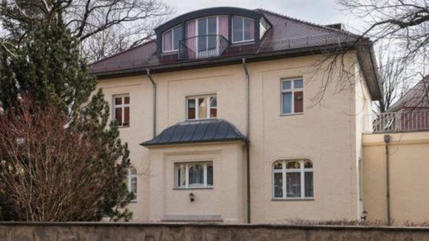 مقر الاستخبارات السوفيتية السابق في ألمانيا
