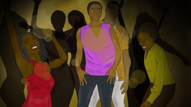 কেনিয়ায় নারীদের নাচের পার্টি