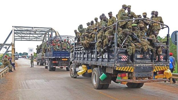 22.000 hommes de l'Amisom combattent les Shebabs en Somalie qui ont été chassés de Mogadiscio en août 2011.