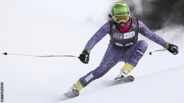 سابرینا سیمادر، اسکیباز اهل کنیا
