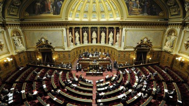 Elysee Palace debating chamber