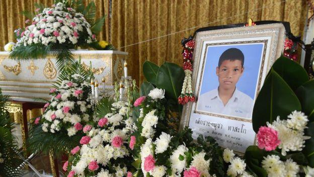 Funeral de Anucha Thasako