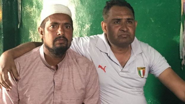 Nazim Khan and Bharat Sharma