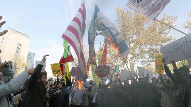 عربية: الرابح العقوبات الأمريكية إيران؟