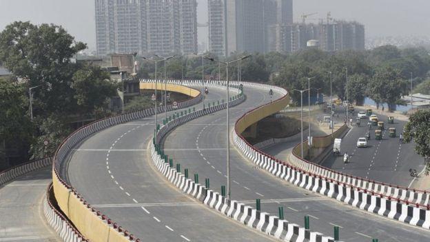 New highway near Delhi