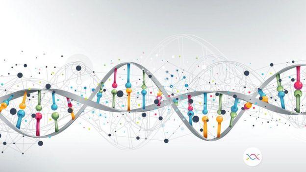 Ilustración ADN