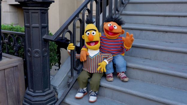 Los personajes de Sesame Street