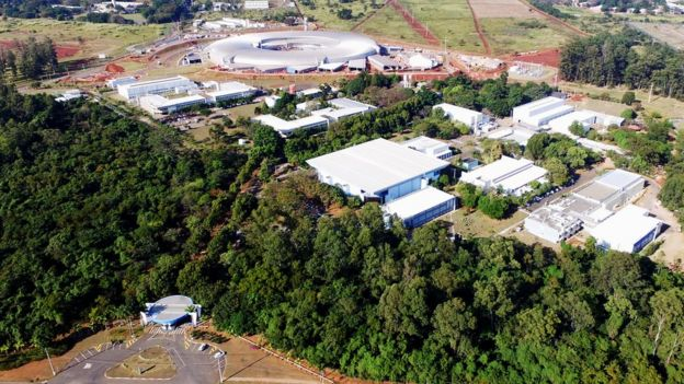 Campus do Centro Nacional de Pesquisa em Energia e Materiais