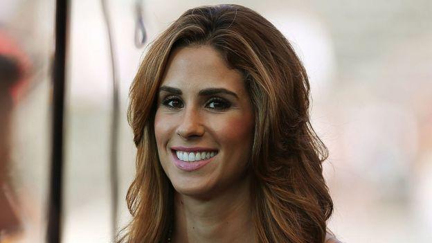 Sports reporter Kelli Tennant