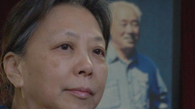 Wang Yannan, the daughter of former leader Zhao Ziyang
