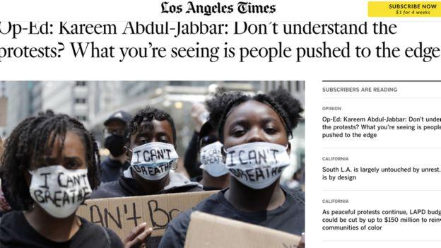 لس آنجلس تایمز