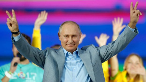Путин на фестивале