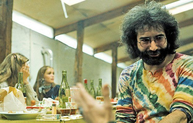 Jerry Garcia from the Grateful Dead