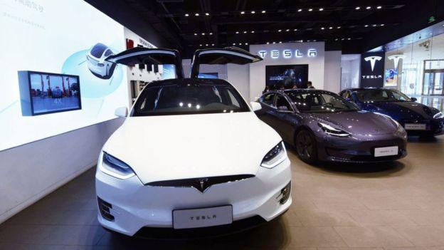 Autos Tesla.
