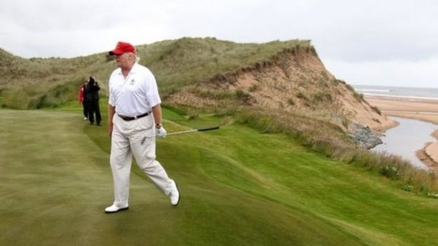 Trump's Doonbeg Visit Is Cancelled